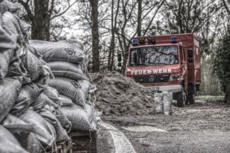 Starkregenereignisse bedeuten für Feuerwehrleute zumeist Dauereinsatz