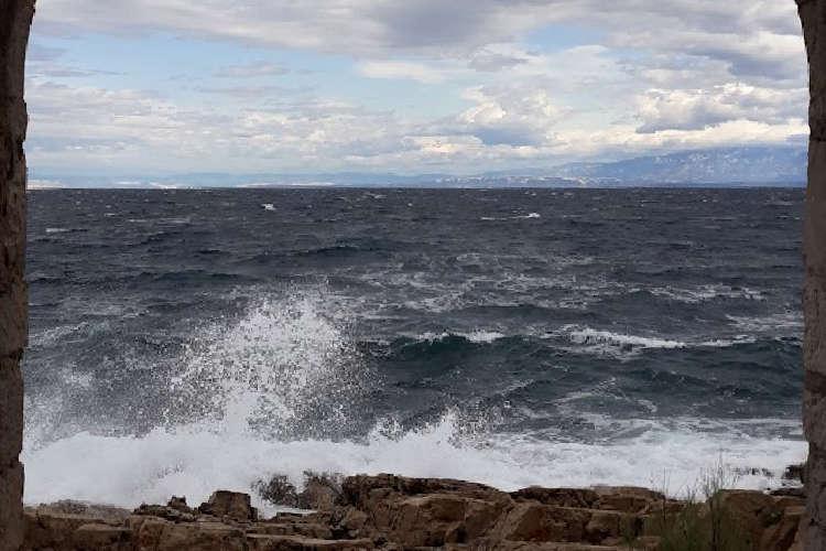 Beaufort-Skala: Wind auf dem Meer; Foto © wetter-wien.wien
