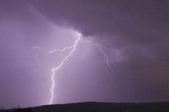 Gewitter - Blitz