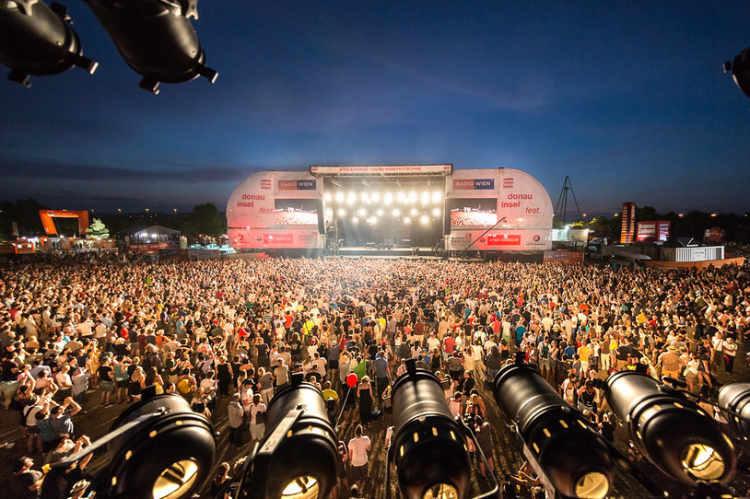 Stimmung am Donauinselfest 2018; Foto: Alexander Müller - www.alexandermüller.at