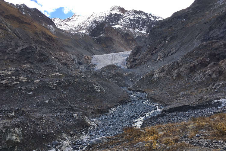 Gletscherbericht ÖAV - Gepatschferner im Jahr 2017 (Bild: Bernd Noggler)
