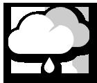 Grafik Wetterprognose Wien heute Früh