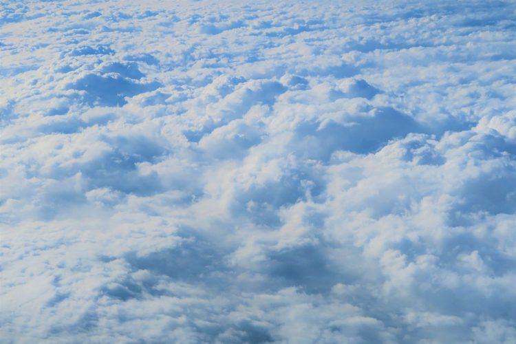 Konvektion ist der Prozess bei dem sich durch warme Luft Wolken bilden können.